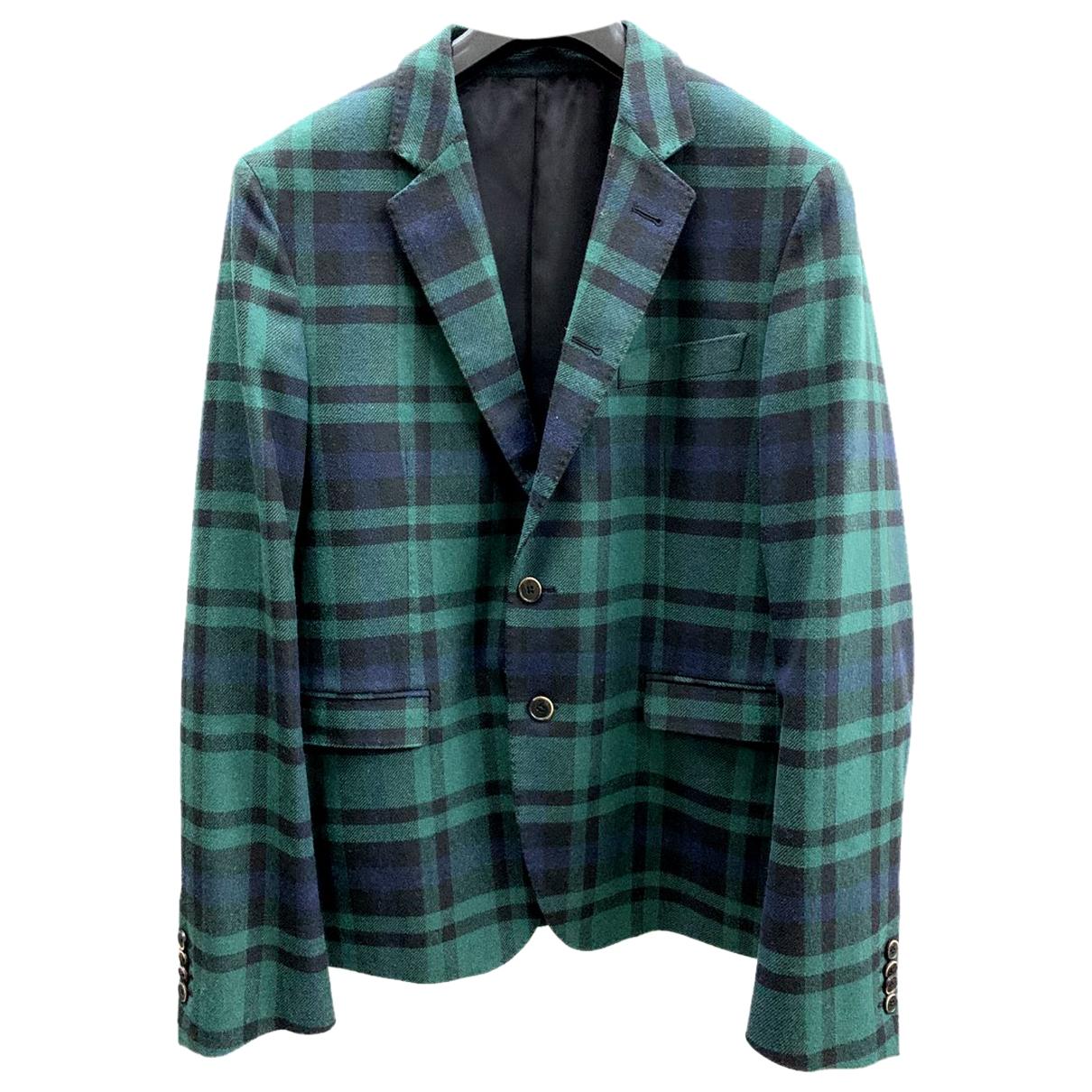 Msgm \N Green Wool jacket  for Men 50 IT