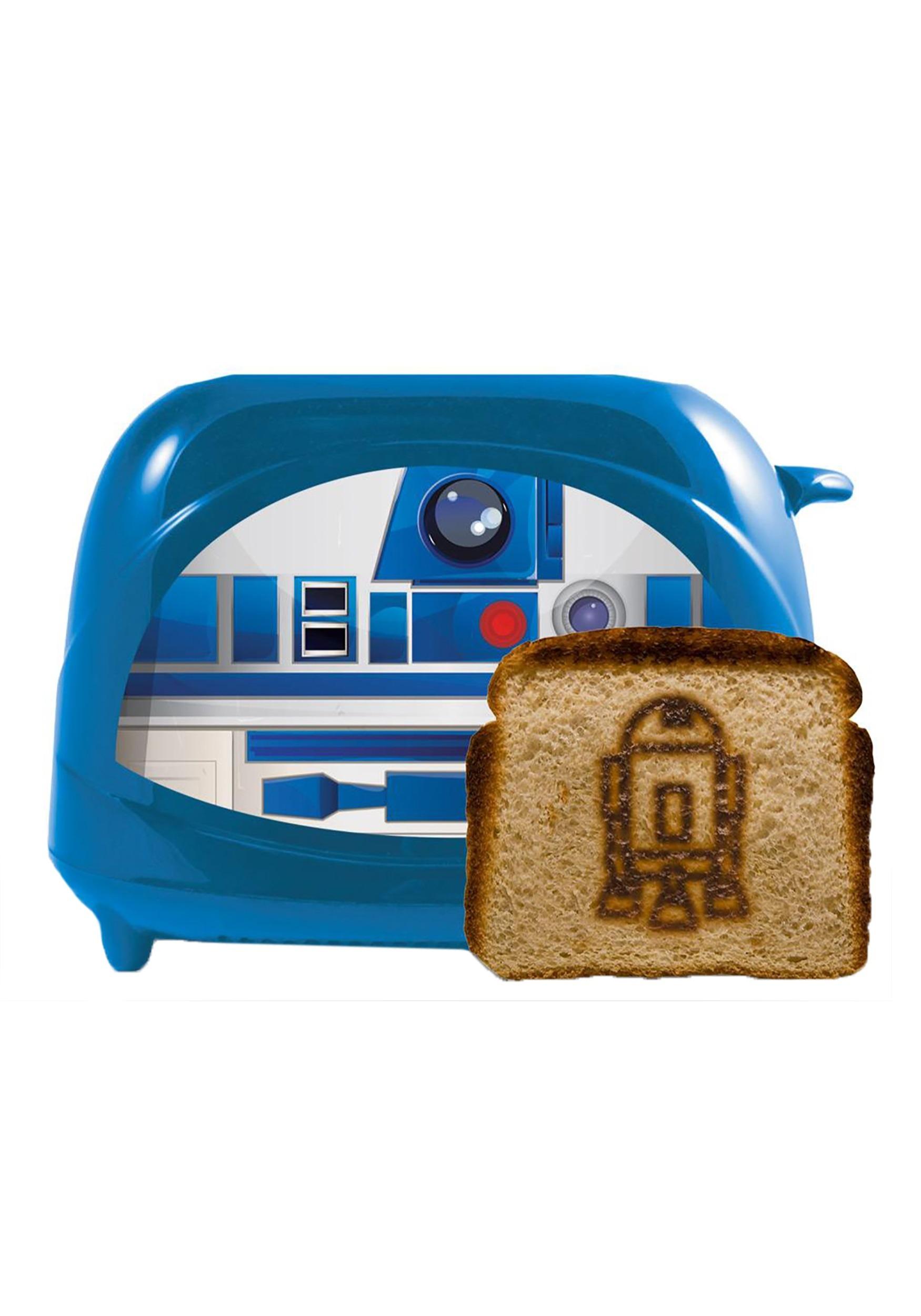 Star Wars R2D2 Empire Toaster Blue