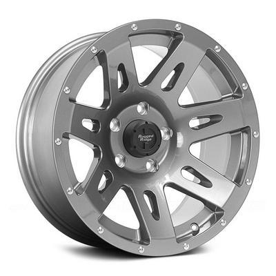 Rugged Ridge XHD Wheel, 17x9 with 5 on 5 Bolt Pattern - Gunmetal Gray - 15301.30
