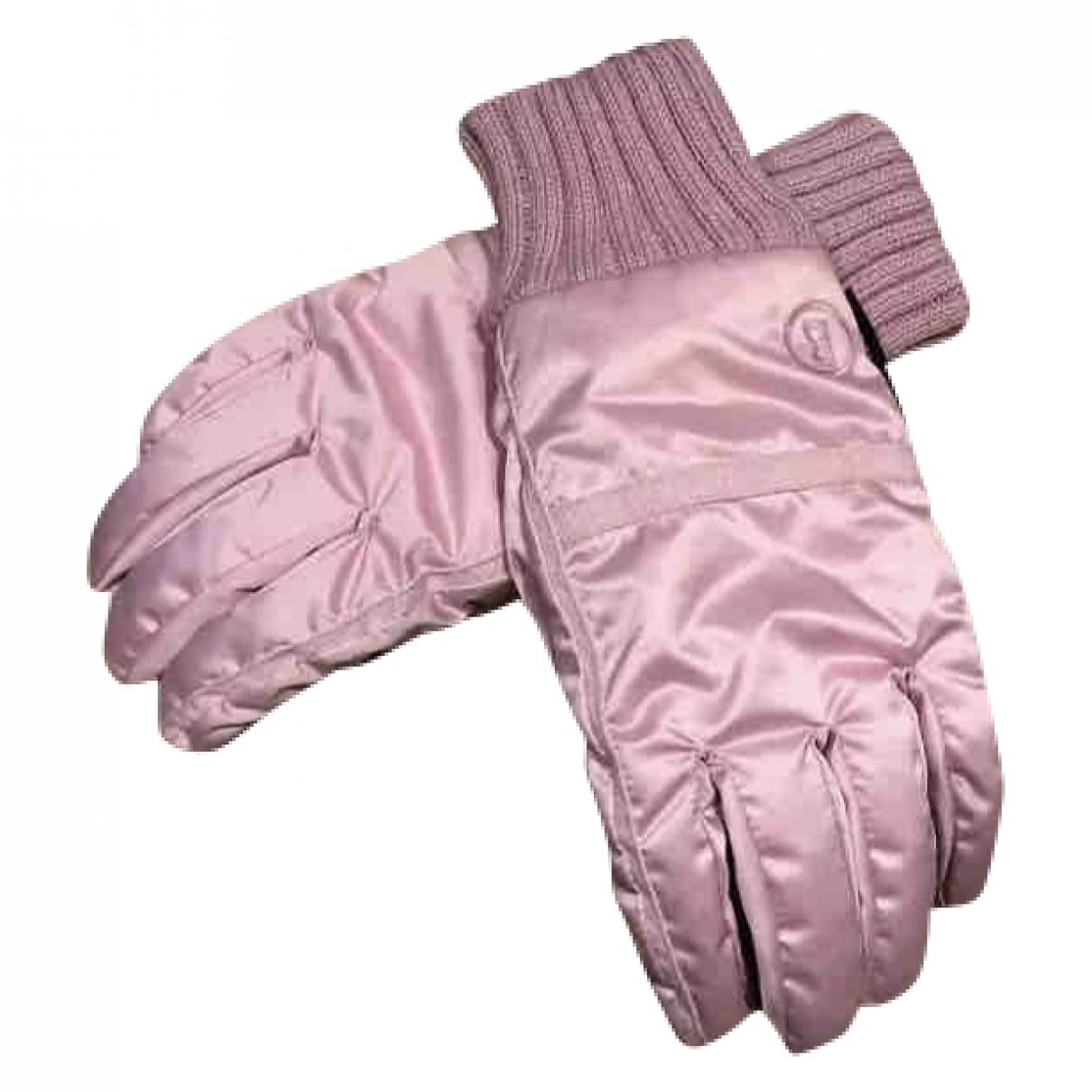 Bogner \N Handschuhe in  Rosa Polyester