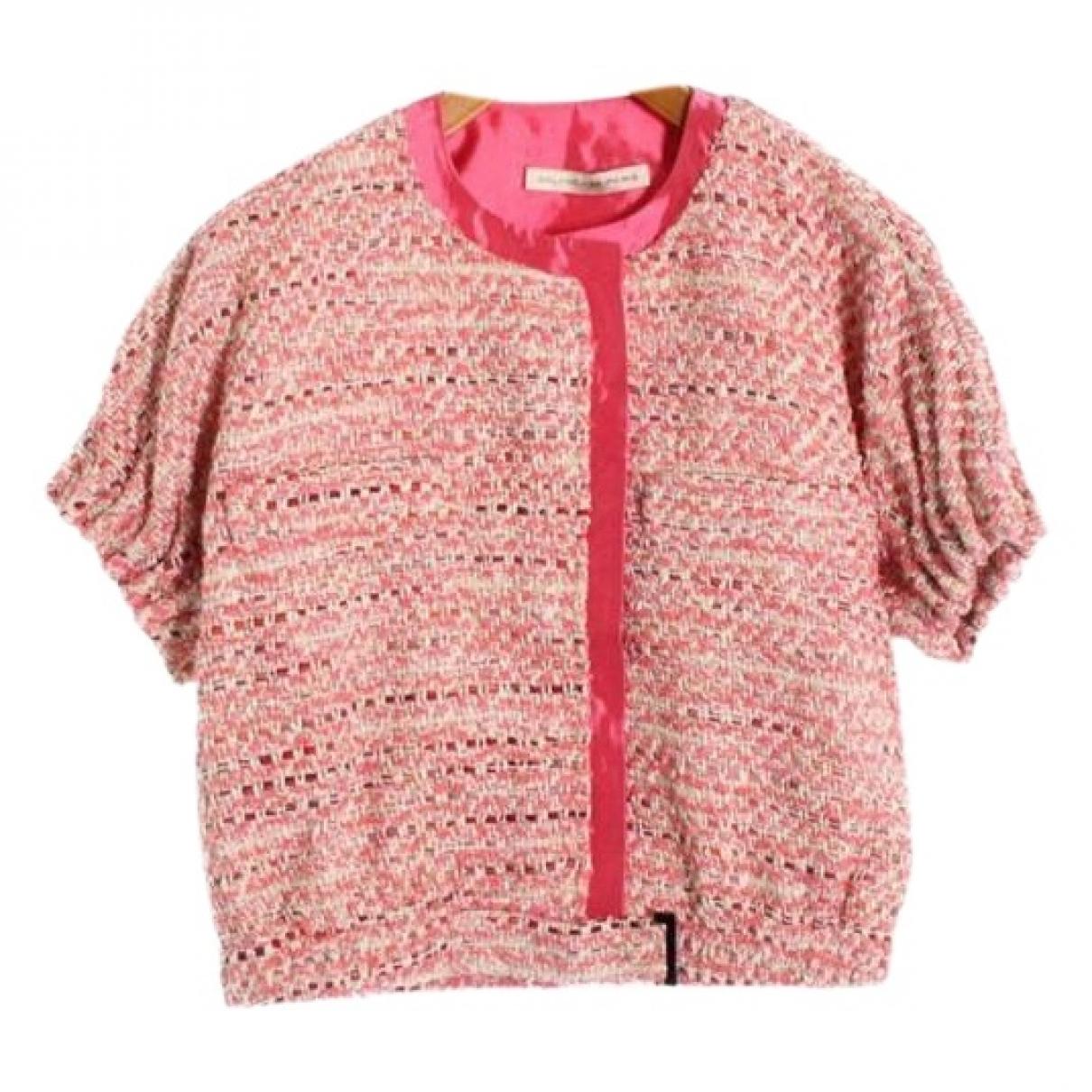 Balenciaga - Veste   pour femme en coton - rose