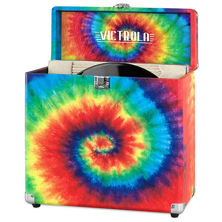 Victrola VSC-20 Storage Case for Vinyl Turntable Records, One Size , Multiple Colors