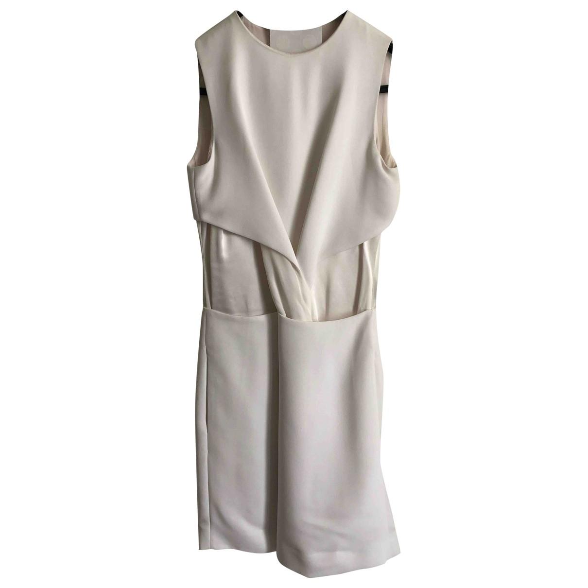 Victoria, Victoria Beckham \N Kleid in  Weiss Polyester