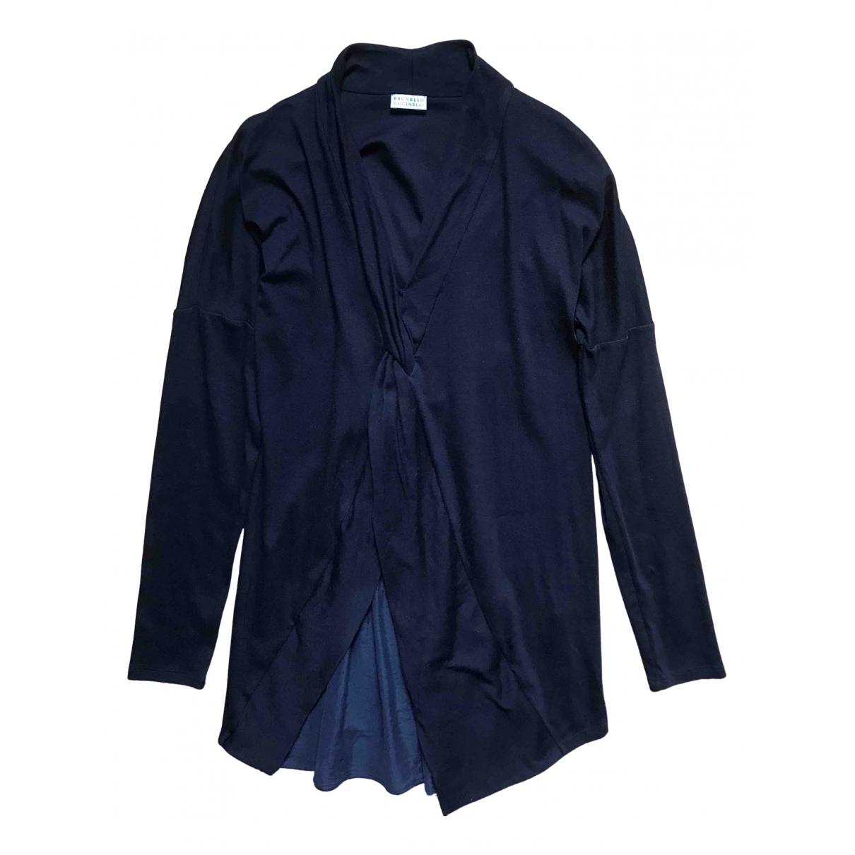 Brunello Cucinelli \N Blue Cotton  top for Women L International