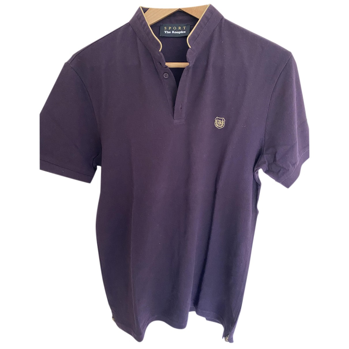 The Kooples Fall Winter 2019 Purple Cotton Polo shirts for Men S International