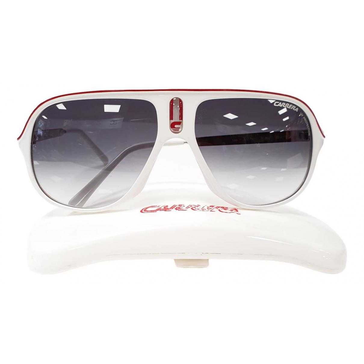 Carrera \N Sonnenbrillen in  Weiss Kunststoff