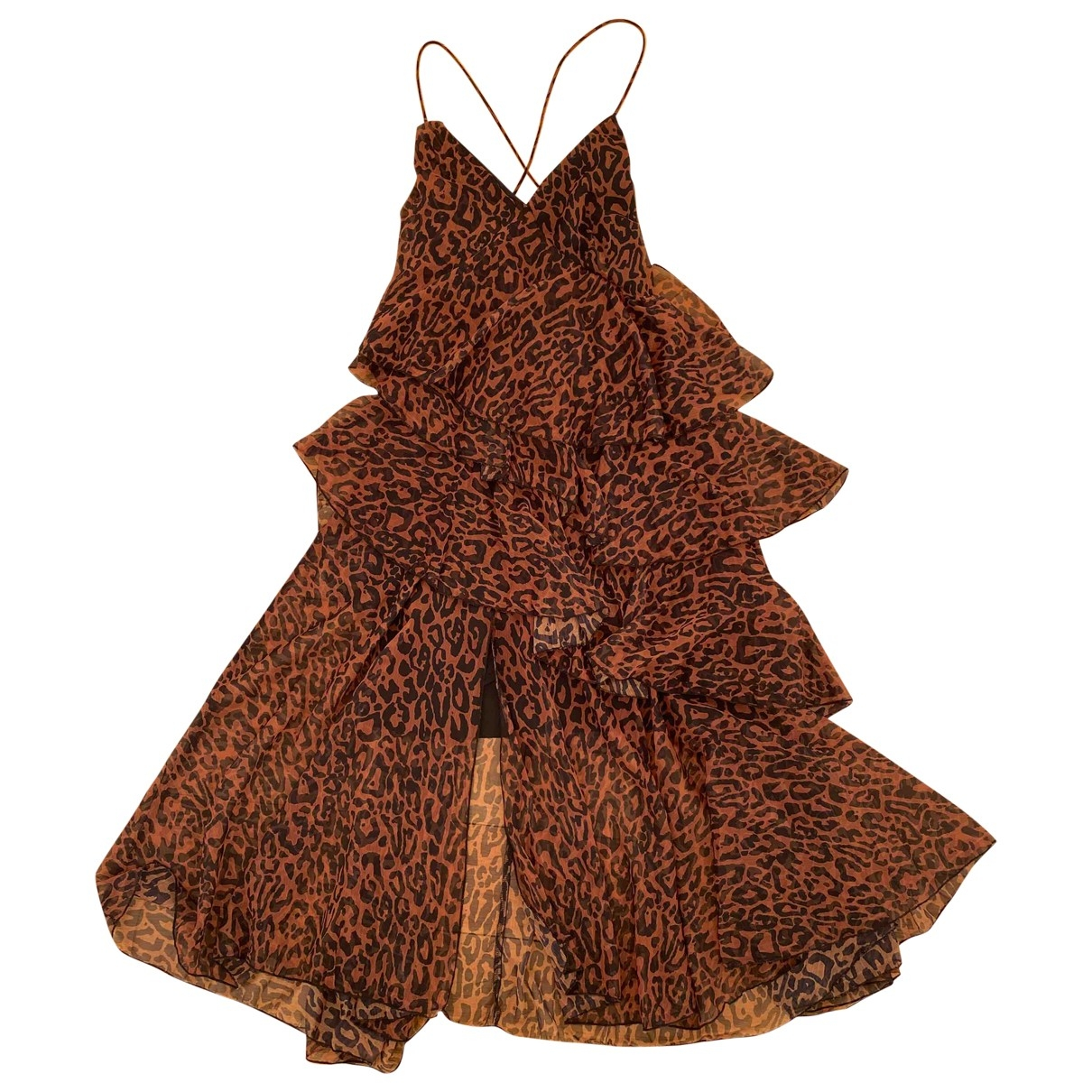 Non Signé / Unsigned \N Brown dress for Women M International