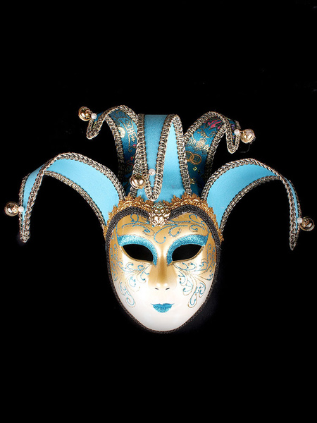 Milanoo Masquerade Costume Accessories Sequin Pearl Carnival Halloween Costume Covering