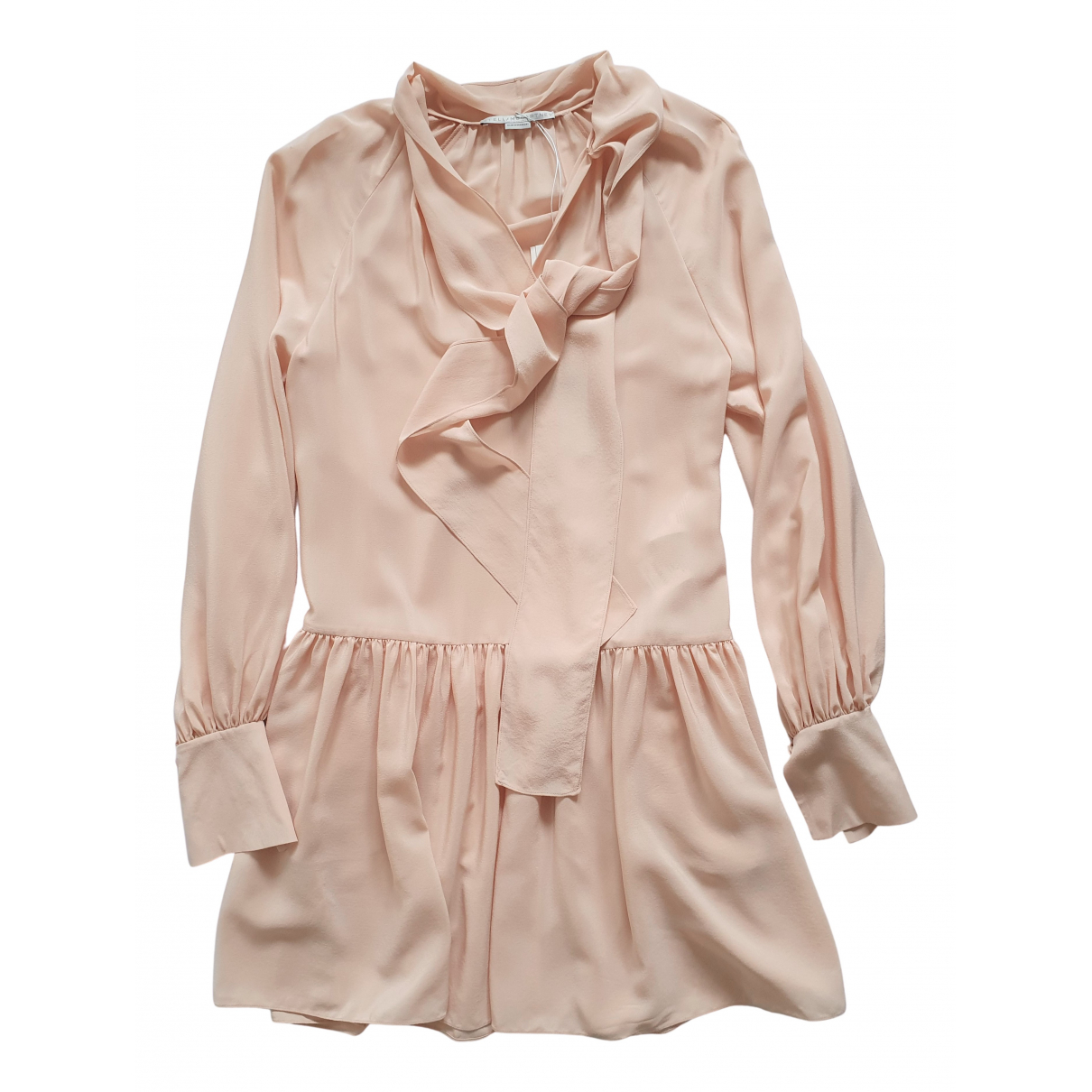 Stella Mccartney \N Kleid in  Rosa Seide