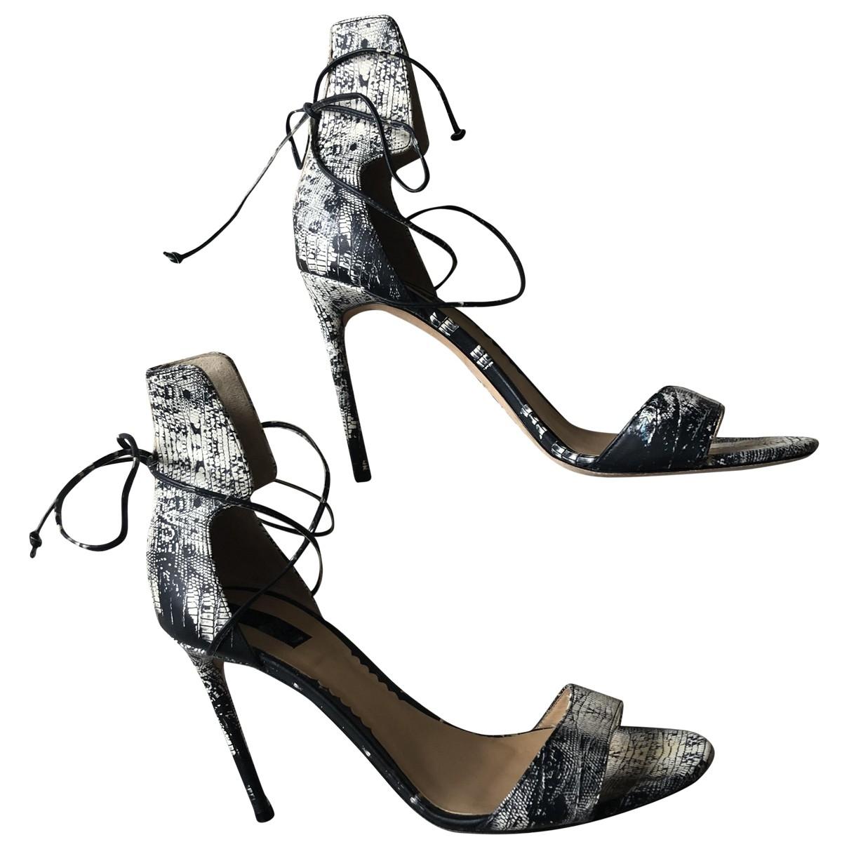 Reed Krakoff - Sandales   pour femme en cuir - multicolore