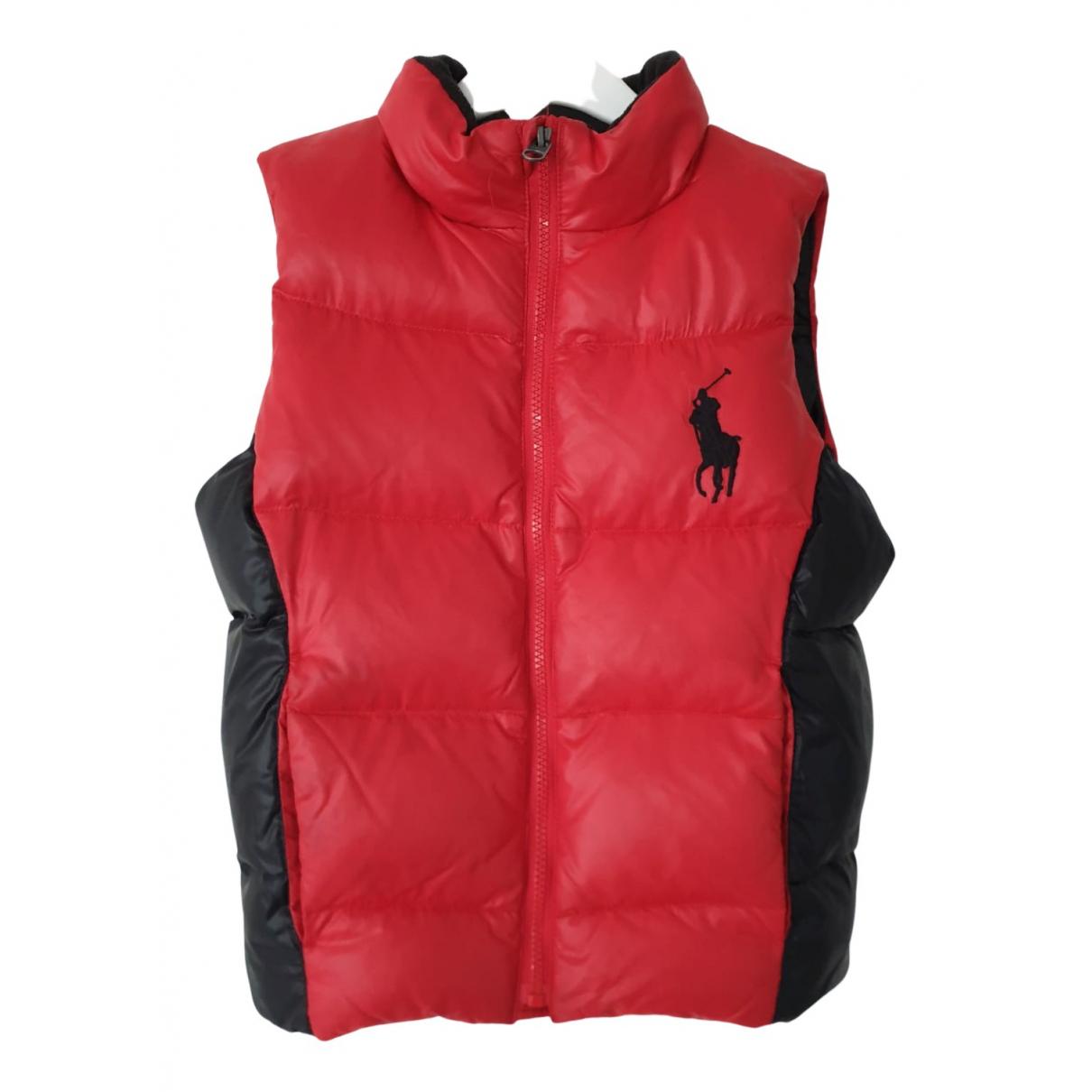Polo Ralph Lauren \N Jacke, Maentel in  Rot Frottee