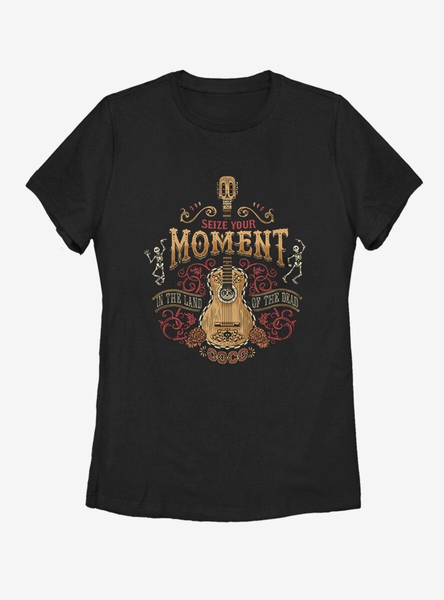 Disney Pixar Coco Seize The Moment Womens T-Shirt