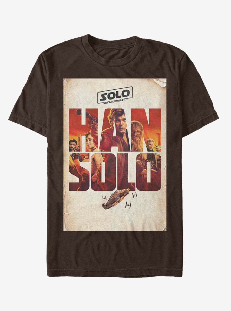 Solo: A Star Wars Story Solo Western Group Vertical Poster T-Shirt