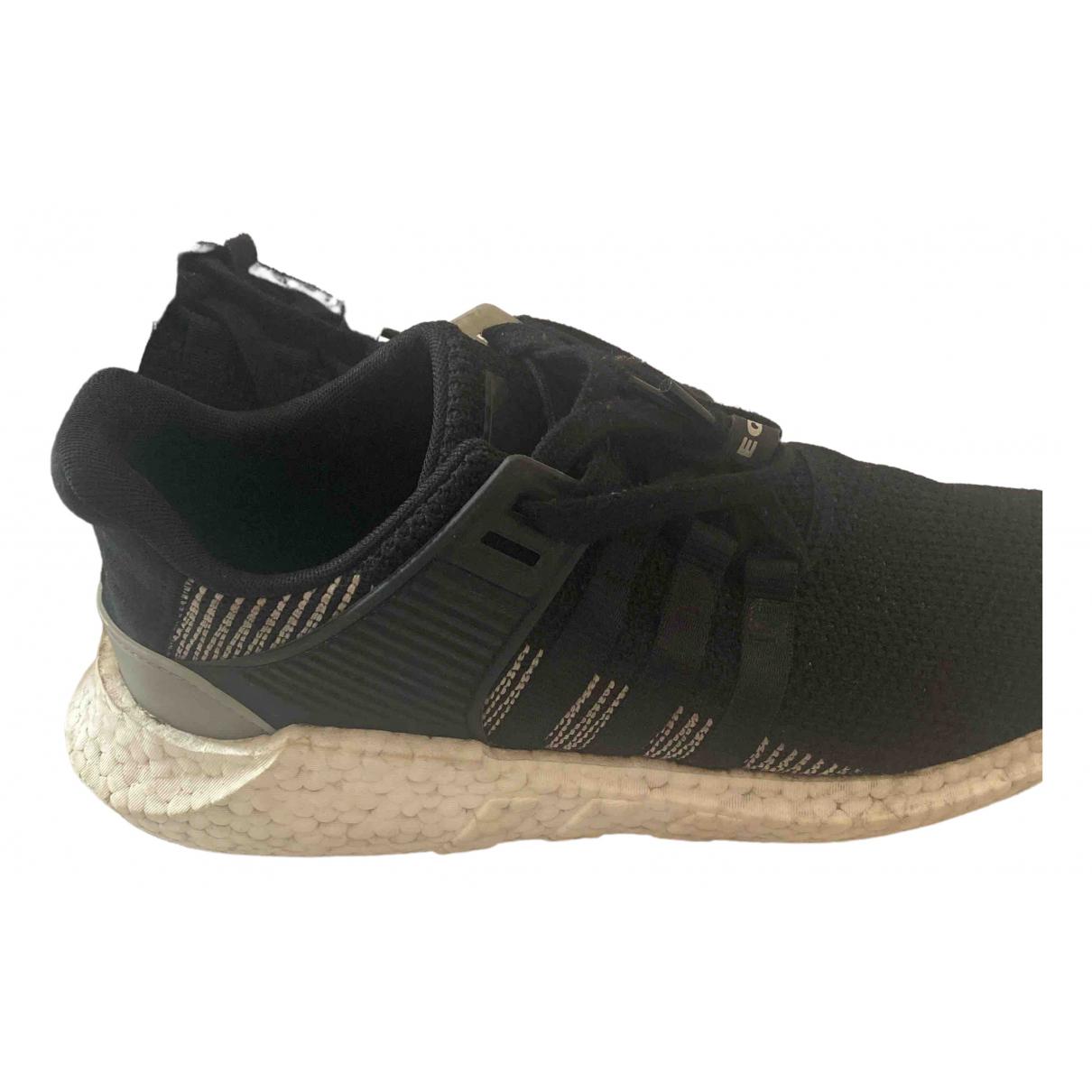 Adidas - Baskets EQT Support pour homme en toile - noir