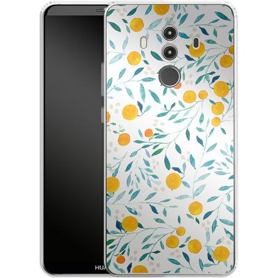 Huawei Mate 10 Pro Silikon Handyhuelle - Fresh Citrus von Iisa Monttinen