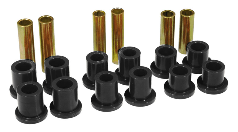 Prothane 6-1006-BL Rear Leaf Spring Bushings - Black Ford F350 1973-1979