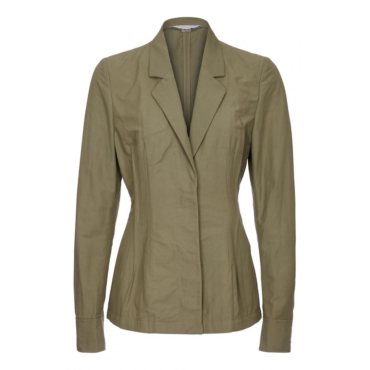 Stella Mccartney N Green Cotton jacket for Women 10 UK