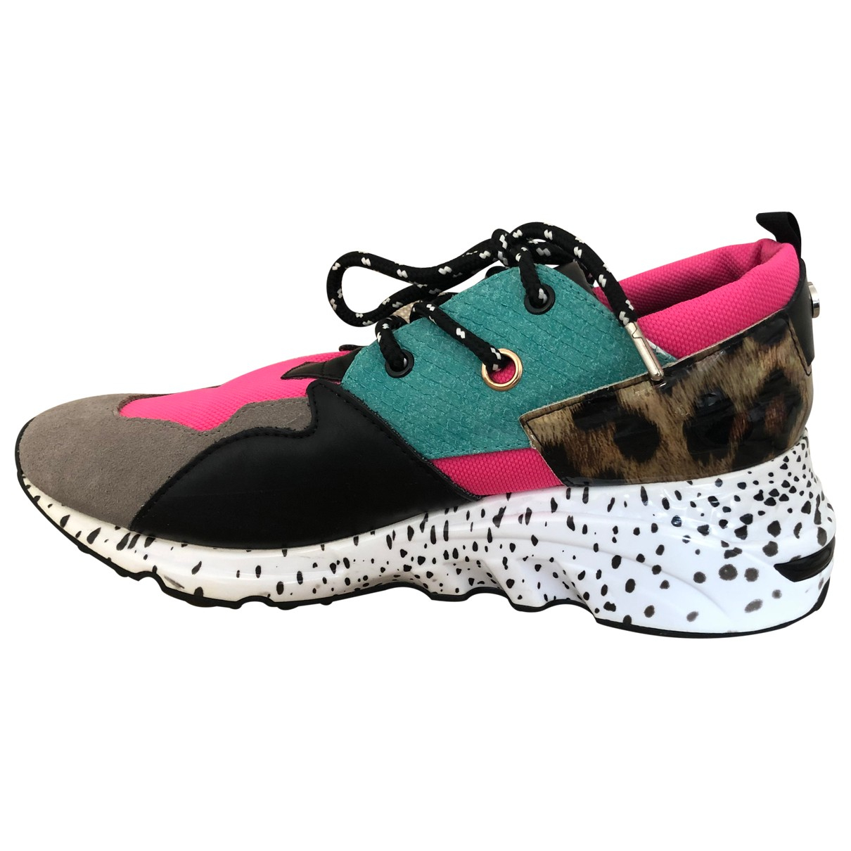 Steve Madden \N Multicolour Leather Trainers for Women 41 EU