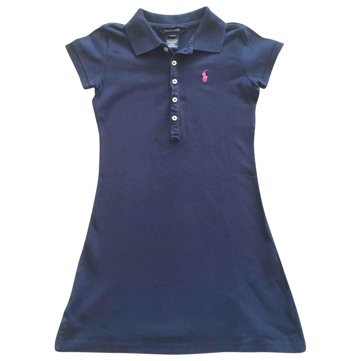Polo Ralph Lauren \N Blue Cotton dress for Kids 6 years - until 45 inches UK