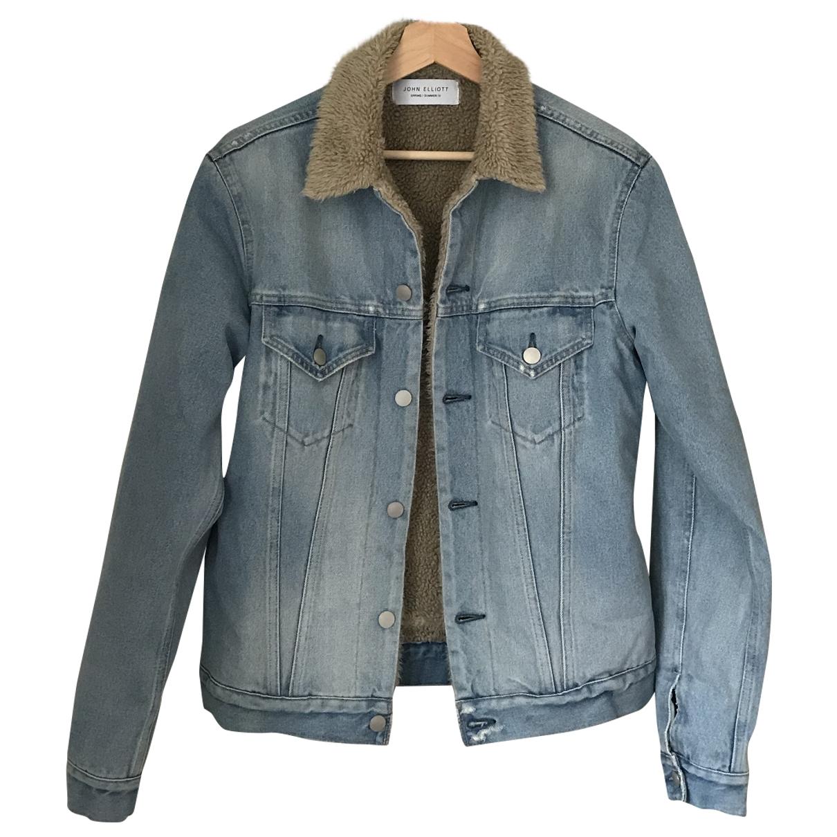John Elliott \N Blue Denim - Jeans jacket  for Men 1 0 - 6