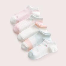 5 pares calcetines de niñitas con patron