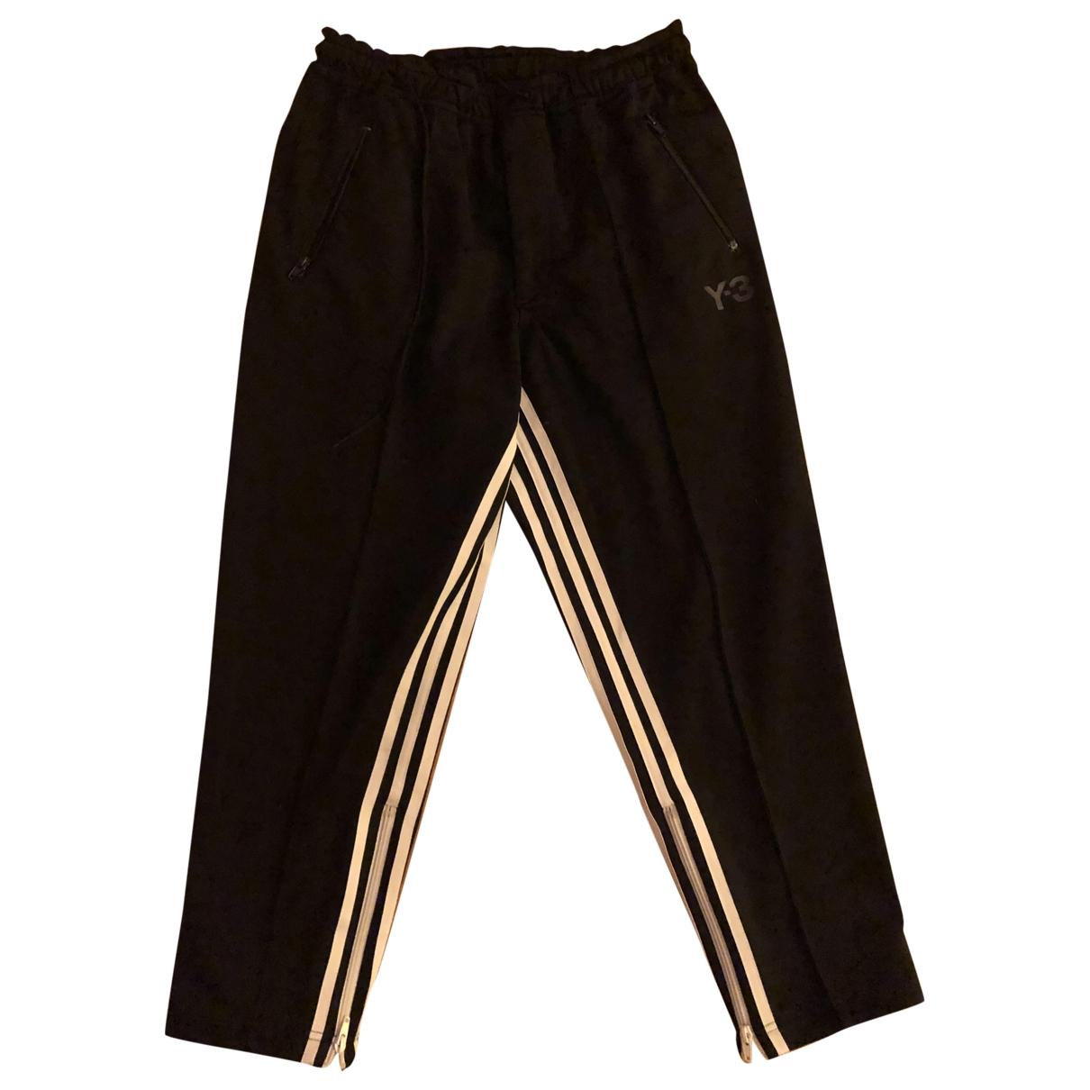 Y-3 - Pantalon   pour femme - noir