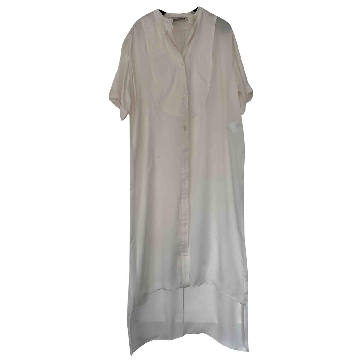 Stella Mccartney \N Kleid in  Weiss Seide