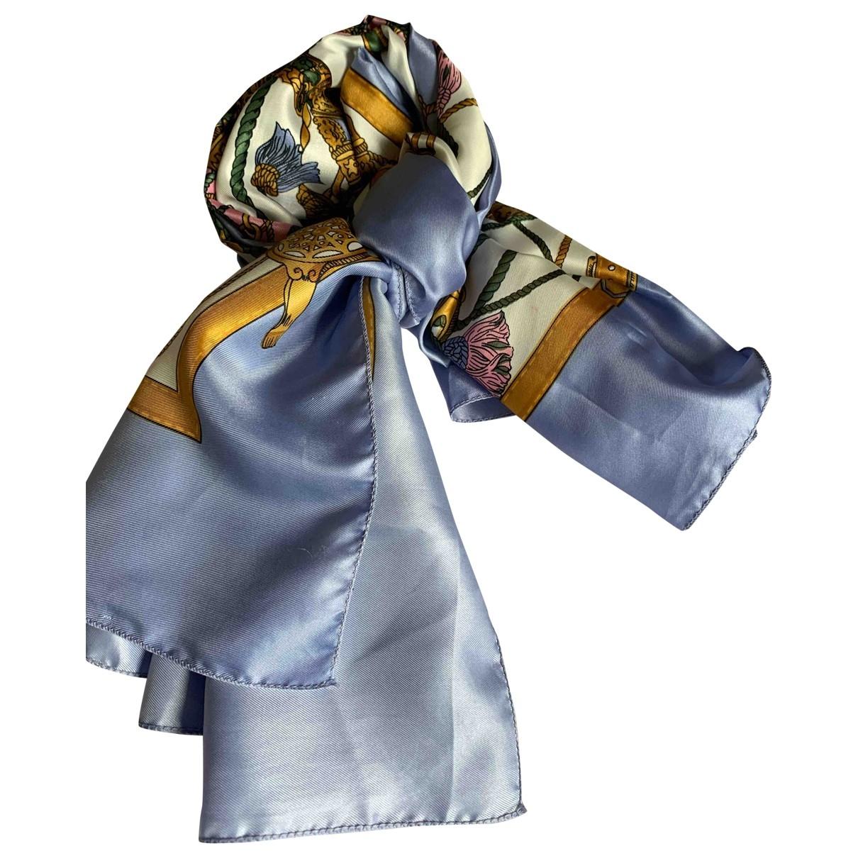 Hermès Carré 90 Purple Silk Silk handkerchief for Women \N