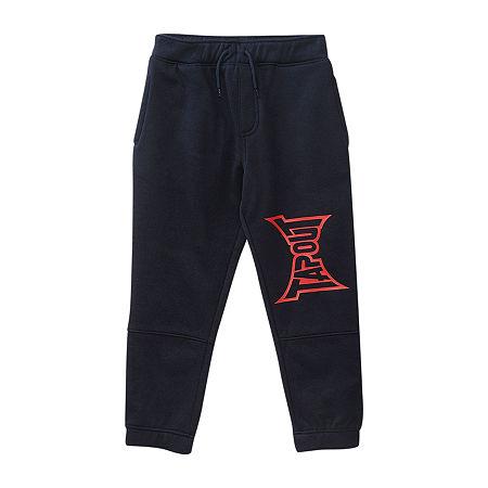Tapout Big Boys Wide Leg Jogger Pant, Large (14-16) , Blue