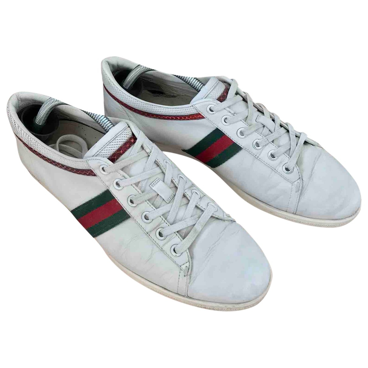 Gucci Ace White Leather Trainers for Women 41 EU