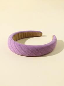 2pcs Sequins Decor Padded Hair Hoop