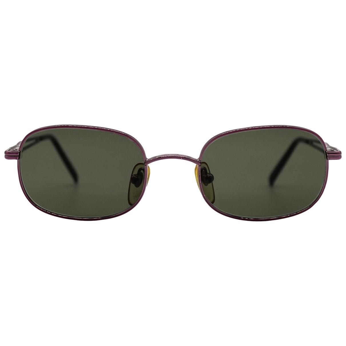 Moschino \N Sonnenbrillen in  Lila Metall