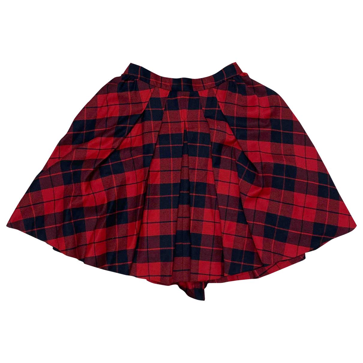 D&g - Jupe   pour femme en coton - rouge