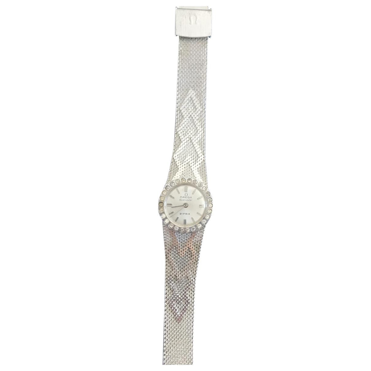 Reloj Seamaster de Oro blanco Omega