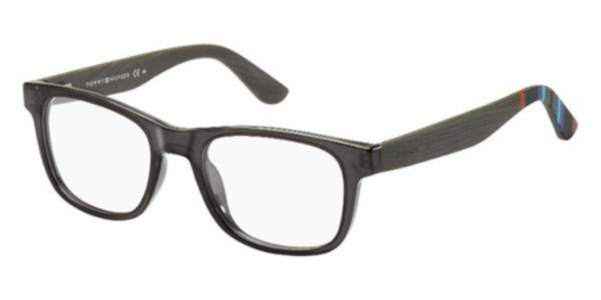 Tommy Hilfiger TH 1314 X3D Men's Glasses Brown Size 50 - Free Lenses - HSA/FSA Insurance - Blue Light Block Available