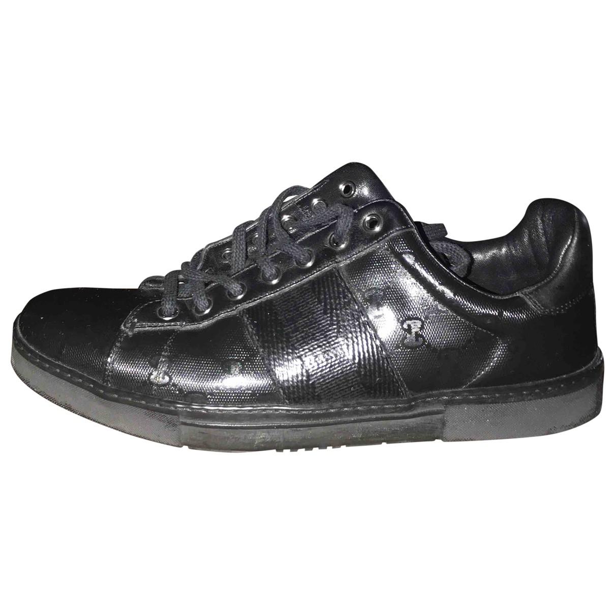 Gucci - Baskets   pour homme en toile - noir