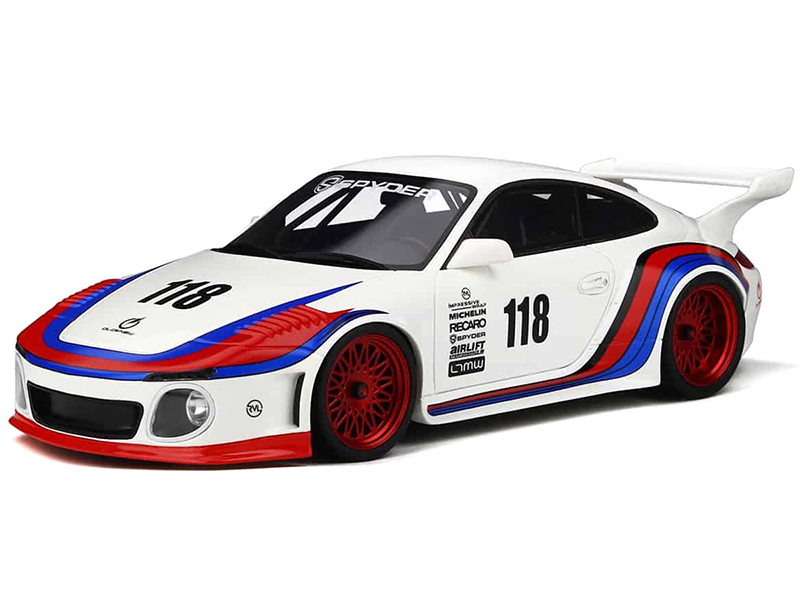 Porsche 997 Old & New Body Kit 118 Limited Edition to 999 pieces Worldwide 1/18 Model Car by GT Spirit