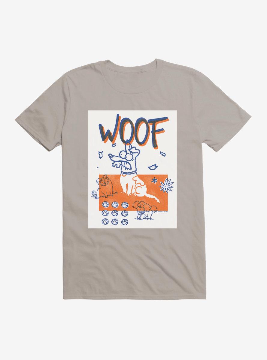 Simon's Cat Woof T-Shirt