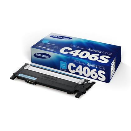 Samsung CLT-C406S Original Cyan Toner Cartridge