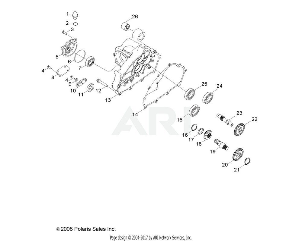Polaris OEM 0454552 PIVOT, SHIFT, LEVER