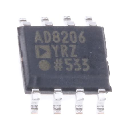 Analog Devices AD8206YRZ , Differential Amplifier 100kHz 8-Pin SOIC