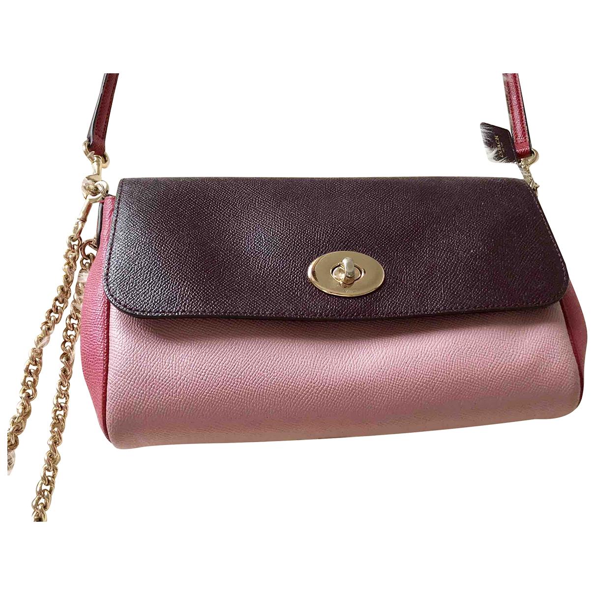 Coach N Multicolour Leather handbag for Women N