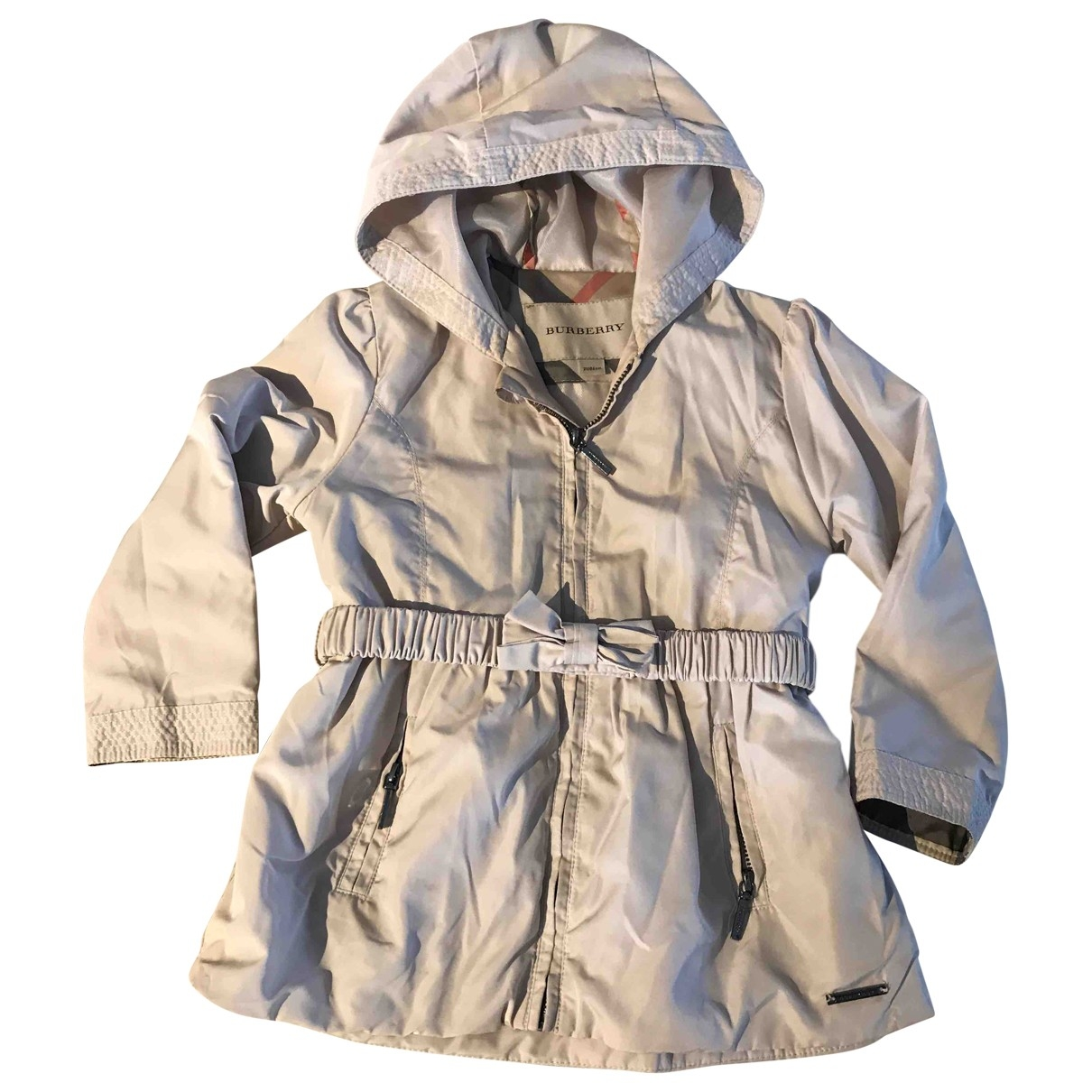 Burberry \N Beige Cotton jacket & coat for Kids 2 years - up to 86cm FR