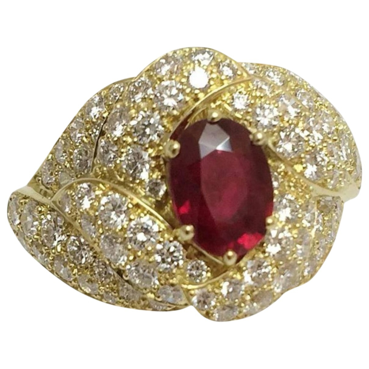 Boucheron \N Red Yellow gold ring for Women 62 MM