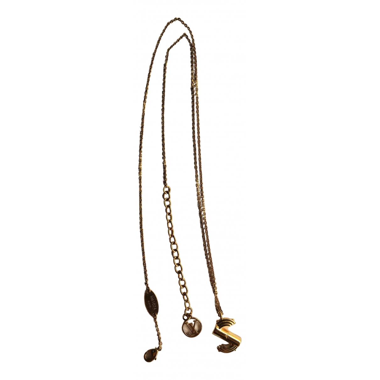 Collar Alphabet LV&ME Louis Vuitton