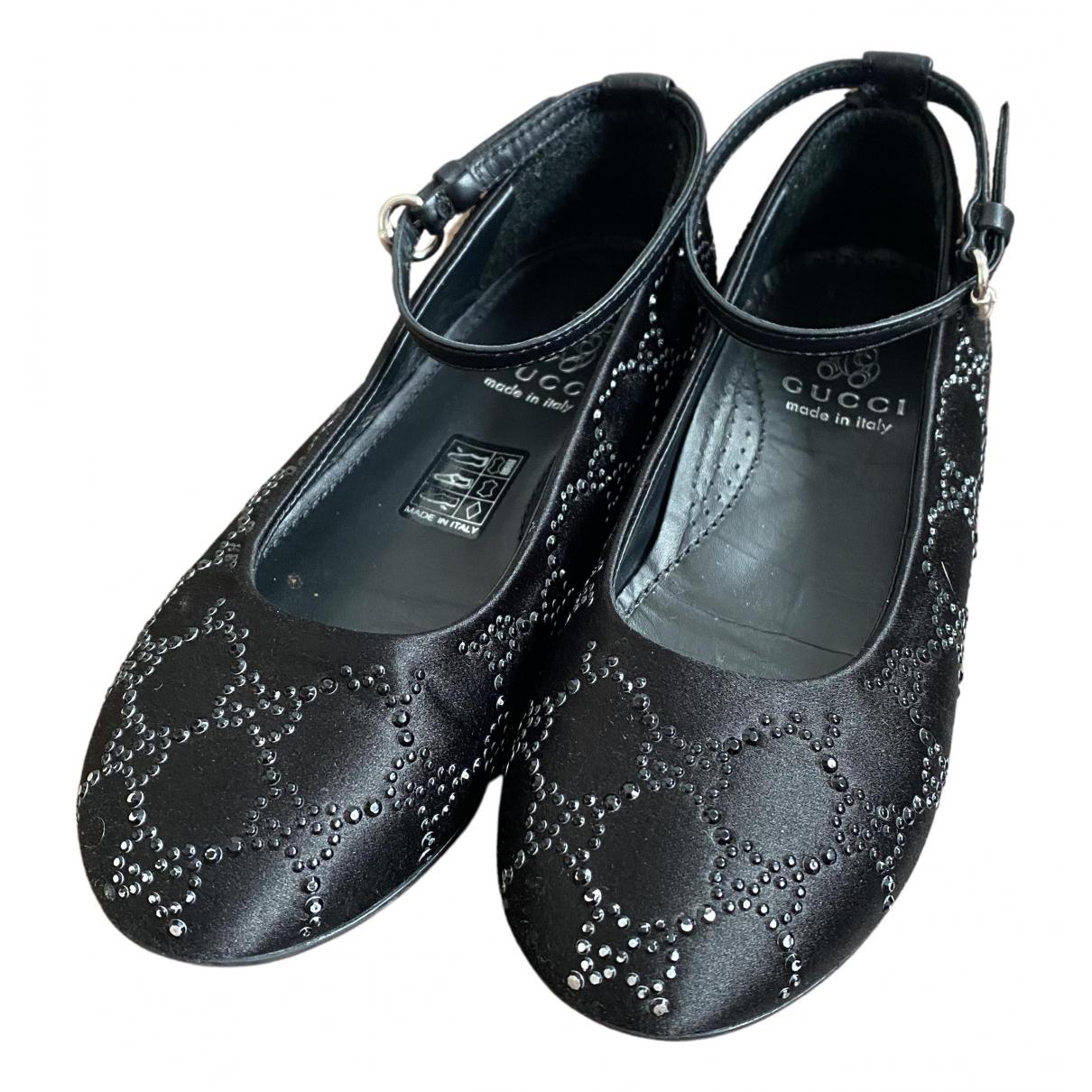 Gucci - Ballerines   pour enfant en toile - noir