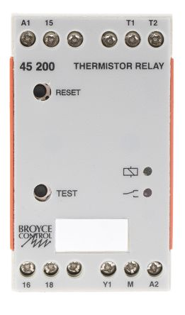 Broyce Control Temperature Monitoring Relay With SPDT Contacts, 24 V ac Supply Voltage