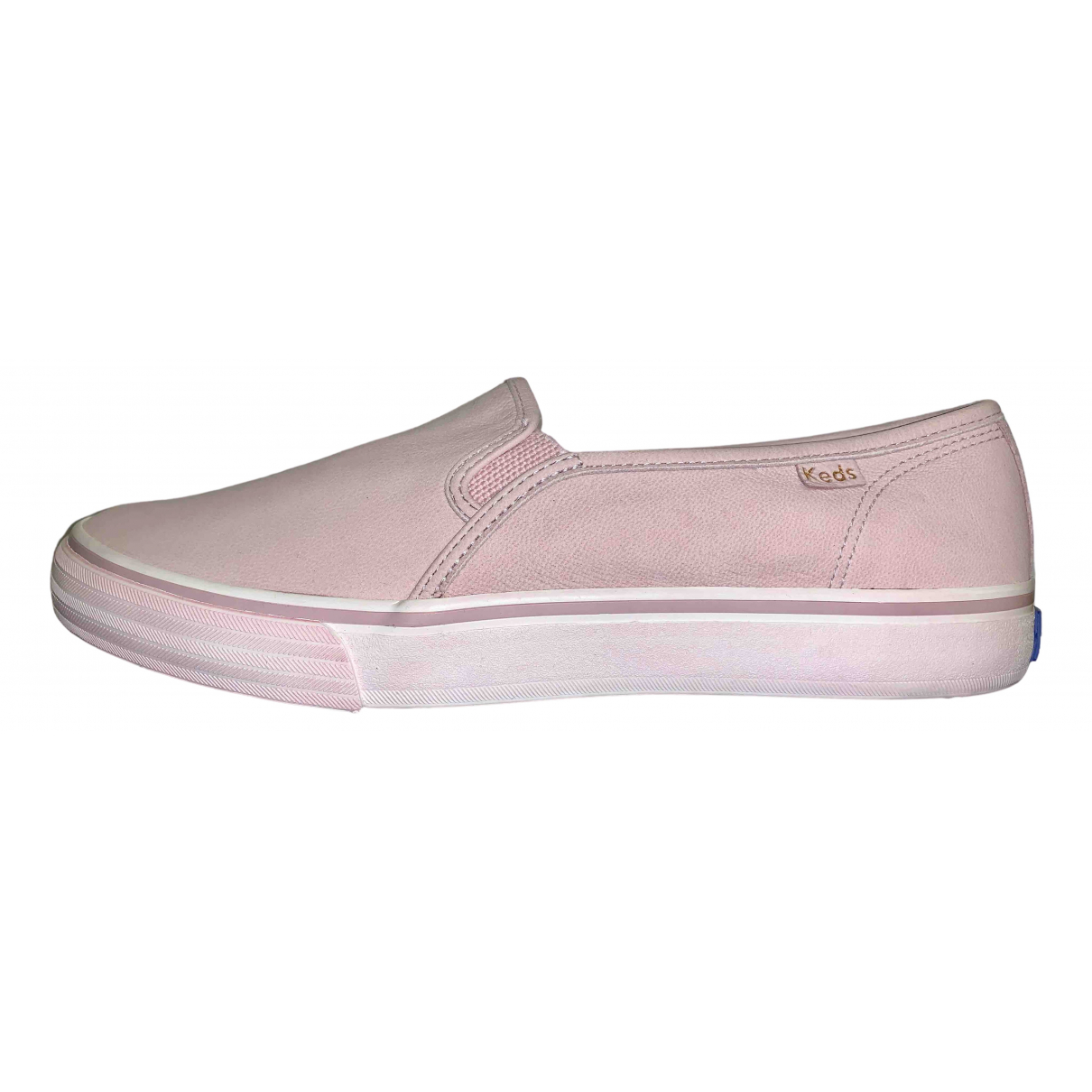 Keds N Pink Leather Trainers for Women 40.5 EU