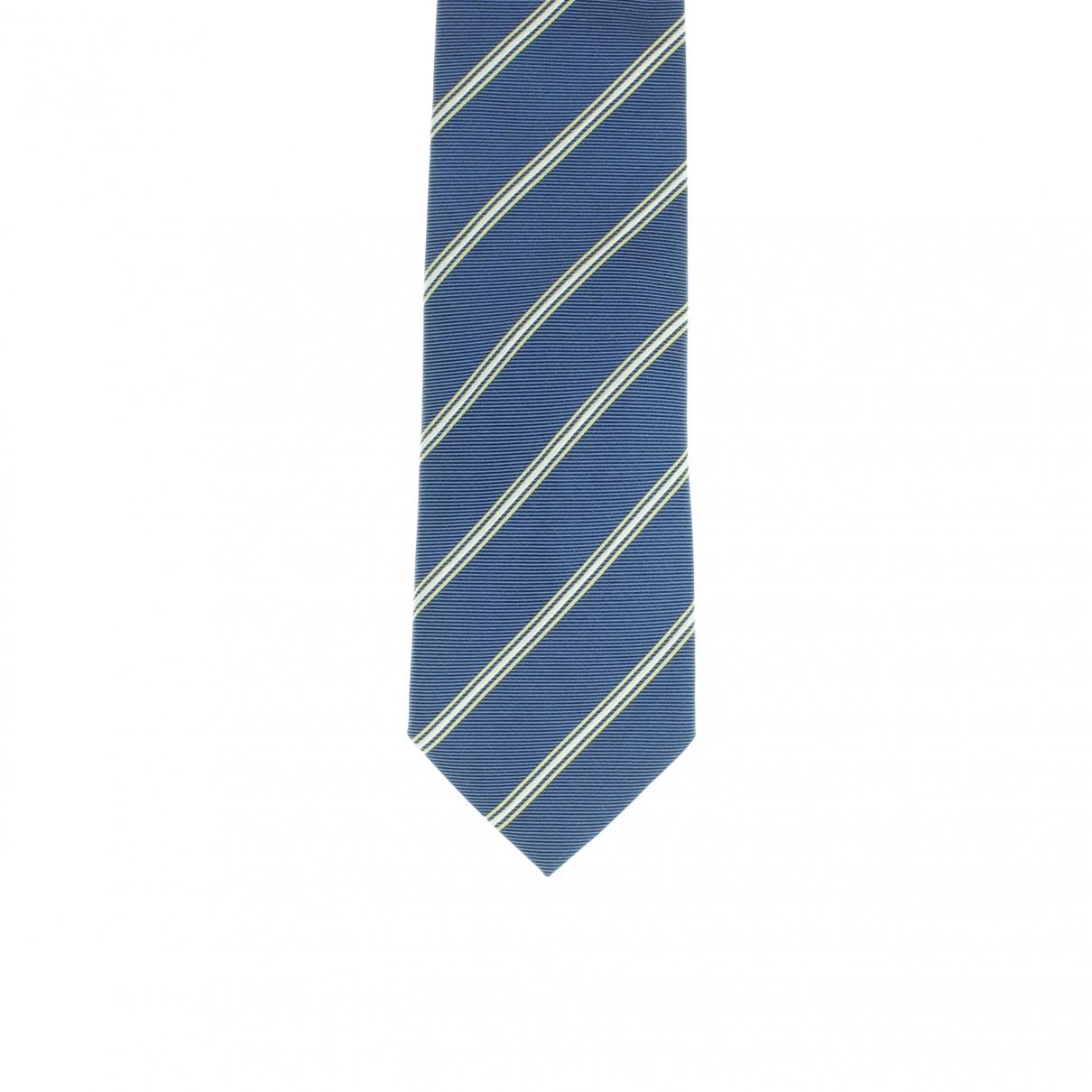 Alfred Dunhill - Cravates   pour homme en soie - bleu