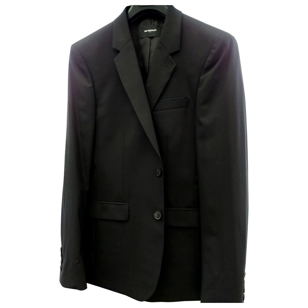 The Kooples Fall Winter 2019 Black Wool jacket  for Men 46 FR